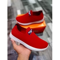 New Style Loafers Shoes 2021 Red Colour