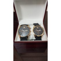 Armani Couple Watch Set