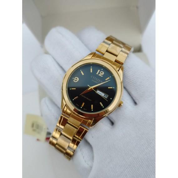 Citizen Day Date Chain Watch HW-271