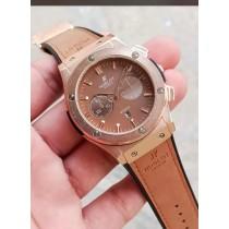 Hublot Geneve Stylish Strap Watch HW-7832