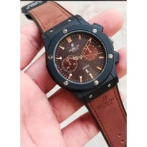 Hublot Geneve Stylish Strap Watch HW-7836