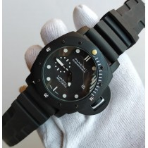 Panerai Submersible Strap Watch