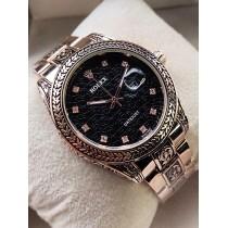 Rolex Super Engraving Chain Gents Watch HWP-083