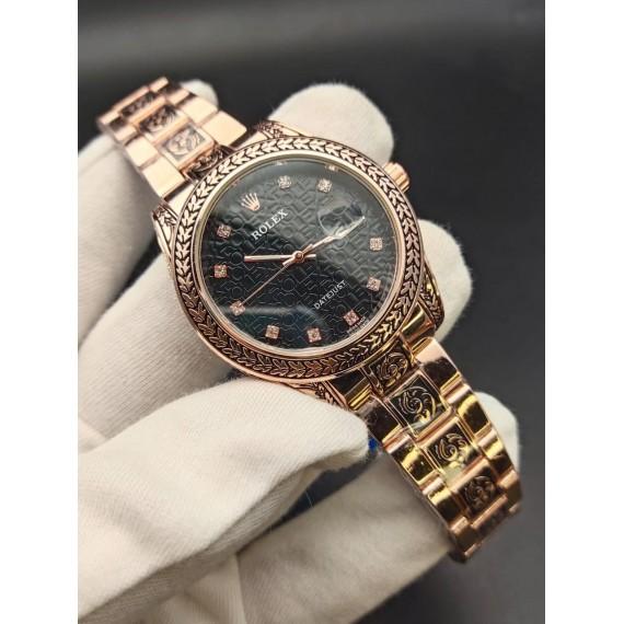 Rolex Super Engraving Chain Gents Watch HWP-089