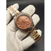 Rolex Super Engraving Chain Gents Watch HWP-090