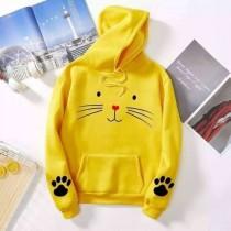Meow Logo Winter Hoodie