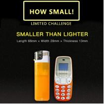 Finger Size BM10 Mini Dual Sim Mobile