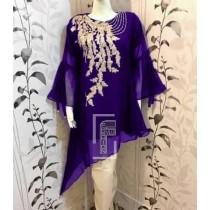 Chiffon Embroided Stylish Design 3pcs Suit