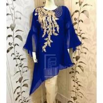 Chiffon Embroided Stylish Design 3pcs Suit MB-41