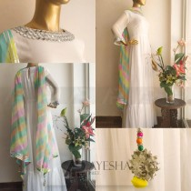 MIRROR MAXI WITH MULTI DUP BY AYESHA PRET