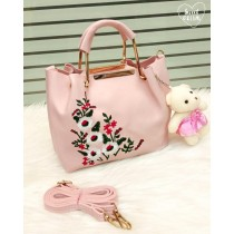 Embroidery Metal Handle Crossbody Bags FHB-160