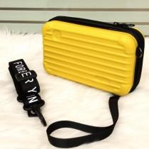 Luxury Suitcase Shape Crossbody Clutch Bag