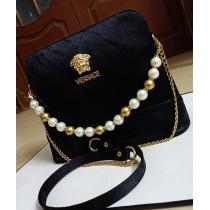 Stylish Versace Logo Design Handbag