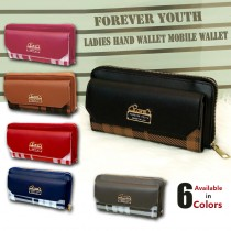 Forever Youth Ladies Hand Wallet & Mobile Wallet