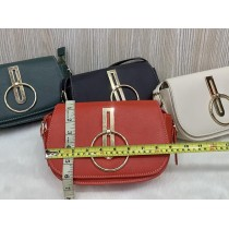 Hand stitched leather crossbody bag FHB-140