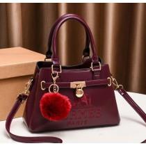 Hermes Lock Style Hand Bag