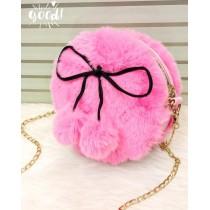 New Fluffy Furr Korean Style Crossbody Bag