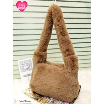 New Large Long Handle Furr Fluffy Crossbody Bags FHB-2521