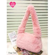 New Large Long Handle Furr Fluffy Crossbody Bags FHB-2526