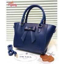 New Prada Handle Bow Crossbody Bag
