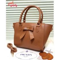 New Prada Handle Bow Crossbody Bag FHB-243