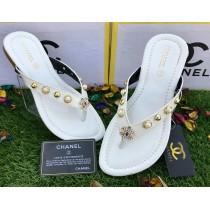 Chanel Two Straps Flat Slipper