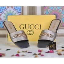 GUCCI Strap Chain Style Slipper