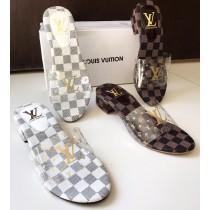 Louis Vuitton LV Low Heel Casual Sandal
