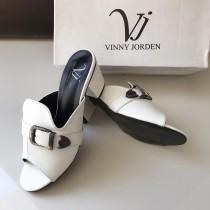 Vinny Jorden Low Heel Belt Style Sandal