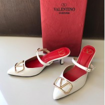 Valentino Garavani Signature Back Open Pump