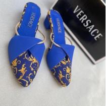 New Versace Block Heel