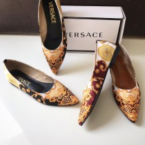 Versace Texture Design Pumps SCM-0180