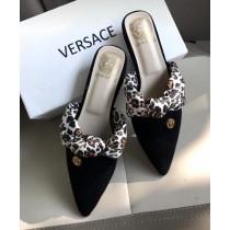 Versace Flat Ribbon Mules SCM-047