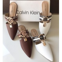 Calvin Klein Ring Lock Pump Slippers