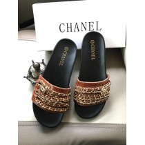 Chanel Ladies Chain Slides