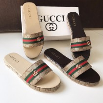 Gucci Strap Style Casual Slippers