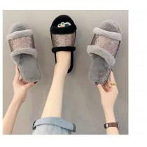 Imported Fur Slippers