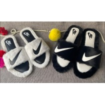 Nike Fur Winter Ladies Slides