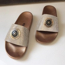 Versace Crystal Casual Slippers SCM-01509