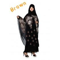 Butterfly Baggy Style Abbaya HUA-M3