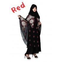 Butterfly Baggy Style Abbaya HUA-M5