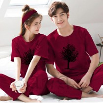 Pack of 2 New Couple Night Dress ZLU-2552