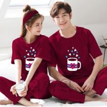 Pack of 2 New Couple Night Dress ZLU-2553