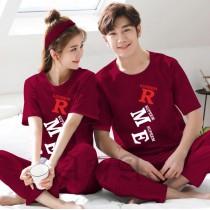 Pack of 2 New Couple Night Dress ZLU-2554