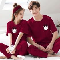 Pack of 2 New Couple Night Dress ZLU-2555