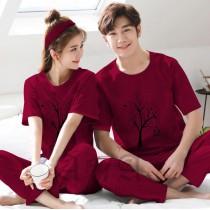 Pack of 2 New Couple Night Dress ZLU-2557
