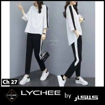New Strip Style Women's 2 pcs