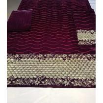2PC VALVET with Masoori Winter Collection 2020 Cod....0285