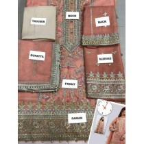 ANUS IBRAR Desinger MASOORI Bridal embroidery suit MS-0639