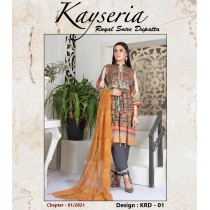 KEYSERIA BY THE G-M TEXTILES EMBROIDERED COLLECTION - 01